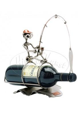 Подарък за рибар - Стойка за вино Hinz & Kunst