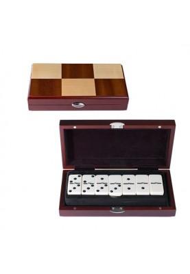 Класическо домино в луксозна дървена кутия