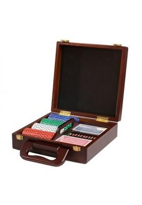 Комплект за покер в луксозен куфар