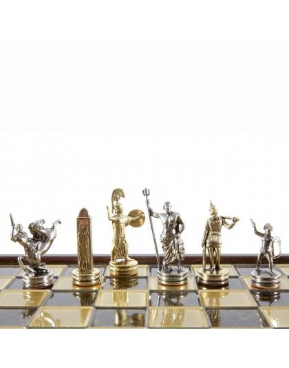 Луксозен шах с фигури от гръцката митология