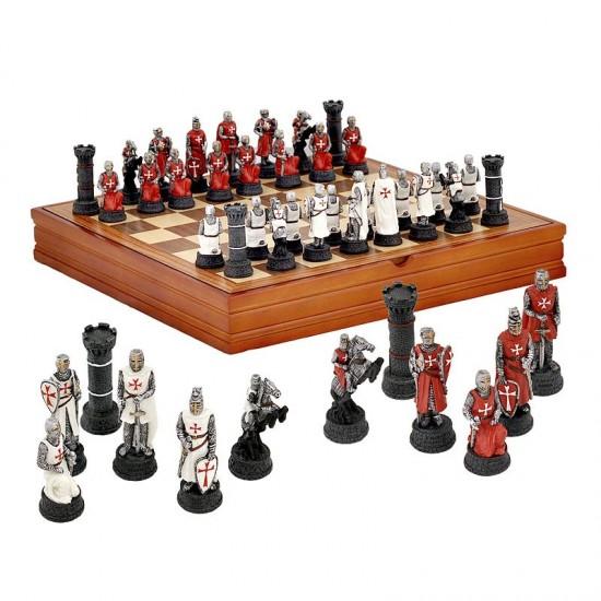 Луксозен шах с кръстоносци 37/37см. WU125