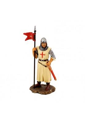 Статуетка за подарък - Кръстоносец със знаме