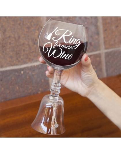 Парти чаша за вино със звънче