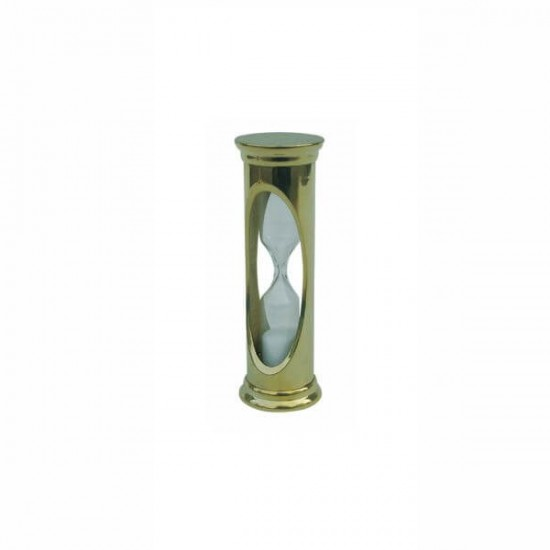 Hourglass for 3 minutes from brass Sea Club SC9170
