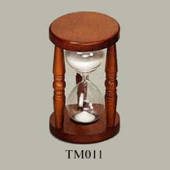 Hourglass for 30 minutes from Sea Power TM011 wood
