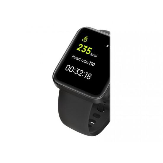 Смарт часовник Xiaomi Mi Watch Lite BHR4357GL, черен