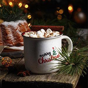 Christmas cups and plates