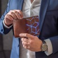 Luxury mens leather wallets