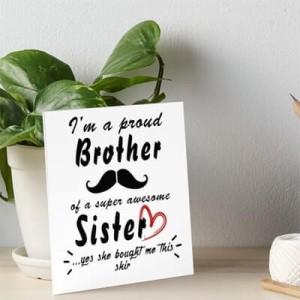 Подарък за брат