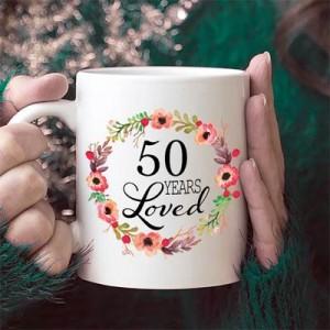 Подарък за жена на 50